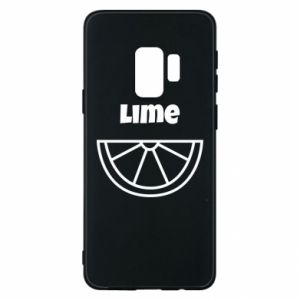 Phone case for Samsung S9 Lime for tequila