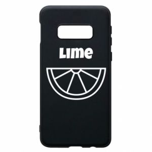 Phone case for Samsung S10e Lime for tequila