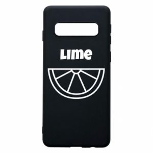 Phone case for Samsung S10 Lime for tequila