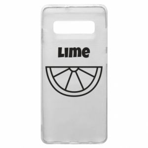 Phone case for Samsung S10+ Lime for tequila