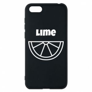 Phone case for Huawei Y5 2018 Lime for tequila