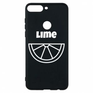 Phone case for Huawei Y7 Prime 2018 Lime for tequila