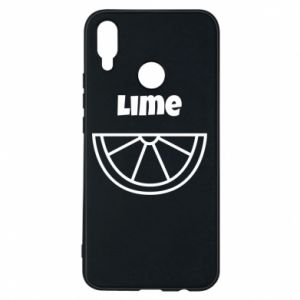 Phone case for Huawei P Smart Plus Lime for tequila
