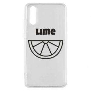 Etui na Huawei P20 Lime for tequila