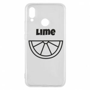 Phone case for Huawei P20 Lite Lime for tequila