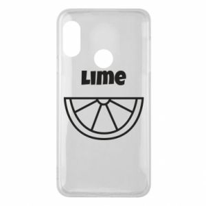 Phone case for Mi A2 Lite Lime for tequila