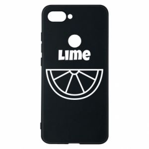 Phone case for Xiaomi Mi8 Lite Lime for tequila