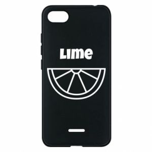 Phone case for Xiaomi Redmi 6A Lime for tequila