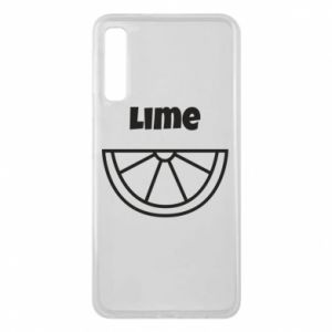 Phone case for Samsung A7 2018 Lime for tequila
