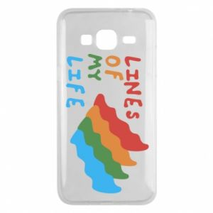 Phone case for Samsung J3 2016 Lines of my life