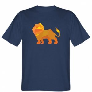 T-shirt Lion abstraction