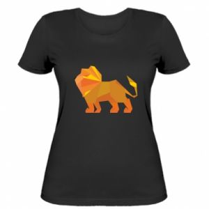 Women's t-shirt Lion abstraction