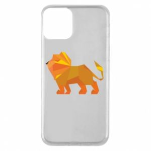 Etui na iPhone 11 Lion abstraction