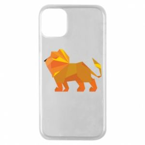 Etui na iPhone 11 Pro Lion abstraction