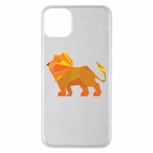 Etui na iPhone 11 Pro Max Lion abstraction