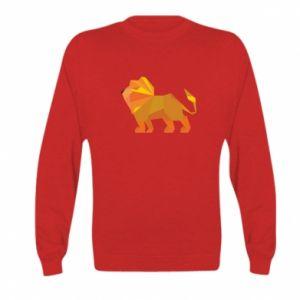 Bluza dziecięca Lion abstraction