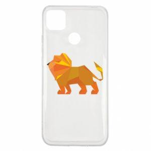 Etui na Xiaomi Redmi 9c Lion abstraction
