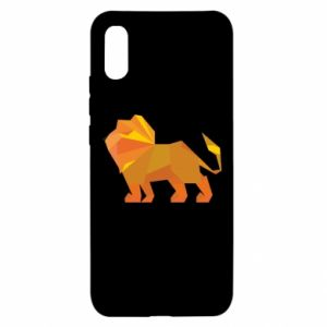 Etui na Xiaomi Redmi 9a Lion abstraction