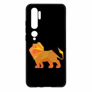 Etui na Xiaomi Mi Note 10 Lion abstraction