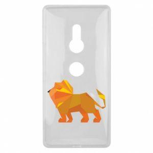 Etui na Sony Xperia XZ2 Lion abstraction