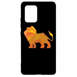 Etui na Samsung S10 Lite Lion abstraction