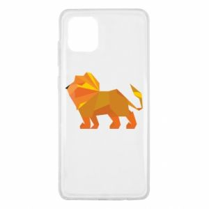 Etui na Samsung Note 10 Lite Lion abstraction