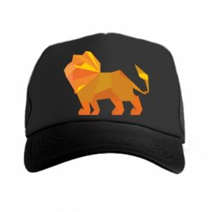 Trucker hat Lion abstraction