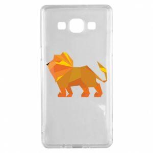 Etui na Samsung A5 2015 Lion abstraction