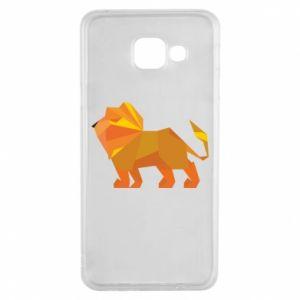 Etui na Samsung A3 2016 Lion abstraction
