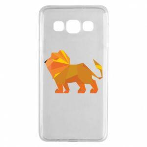 Etui na Samsung A3 2015 Lion abstraction