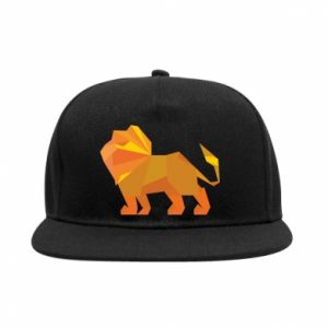 SnapBack Lion abstraction