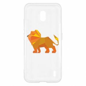 Etui na Nokia 2.2 Lion abstraction