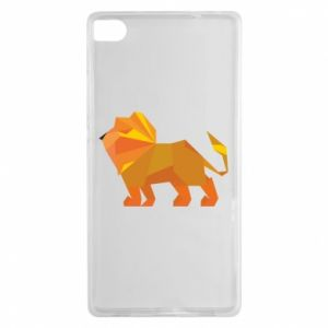 Etui na Huawei P8 Lion abstraction