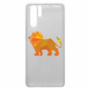 Etui na Huawei P30 Pro Lion abstraction