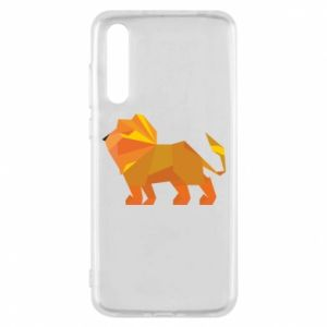 Etui na Huawei P20 Pro Lion abstraction