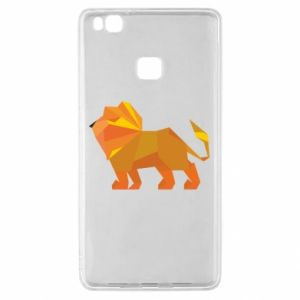 Etui na Huawei P9 Lite Lion abstraction