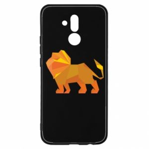 Etui na Huawei Mate 20 Lite Lion abstraction