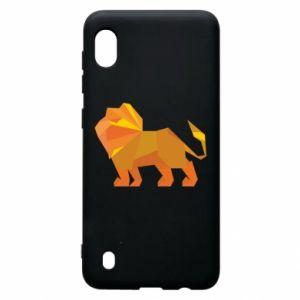 Etui na Samsung A10 Lion abstraction