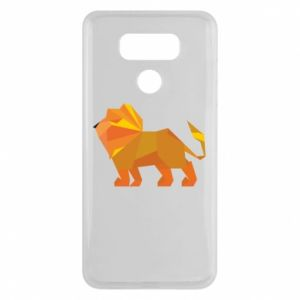 Etui na LG G6 Lion abstraction