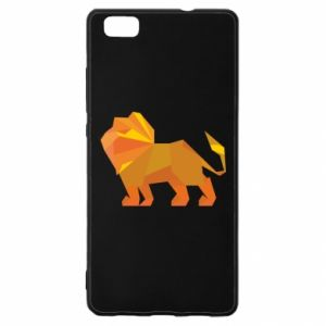 Etui na Huawei P 8 Lite Lion abstraction