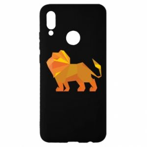 Etui na Huawei P Smart 2019 Lion abstraction