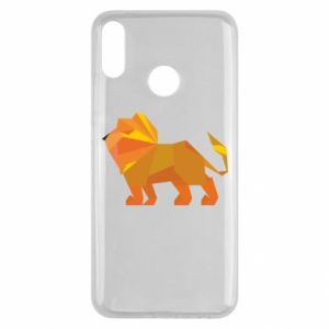 Etui na Huawei Y9 2019 Lion abstraction