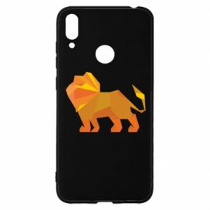 Etui na Huawei Y7 2019 Lion abstraction