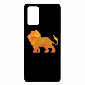 Etui na Samsung Note 20 Lion abstraction