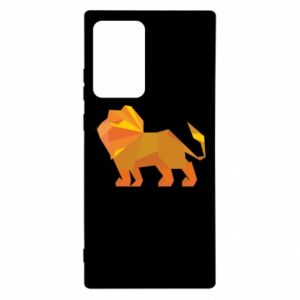 Etui na Samsung Note 20 Ultra Lion abstraction