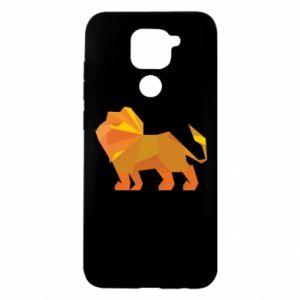 Etui na Xiaomi Redmi Note 9/Redmi 10X Lion abstraction