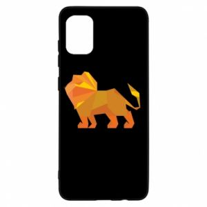 Etui na Samsung A31 Lion abstraction