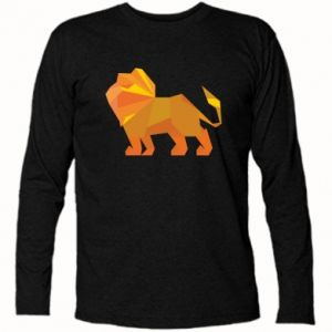 Long Sleeve T-shirt Lion abstraction