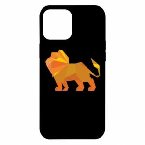 Etui na iPhone 12 Pro Max Lion abstraction