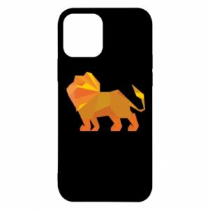 Etui na iPhone 12/12 Pro Lion abstraction